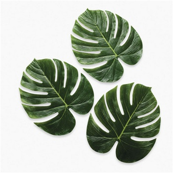 GIANT POLYSILK MONSTERA LEAVES Pack Of 12