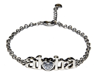 HEART OF HAWAII ALOHA BRACELET