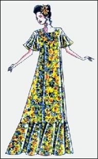 Shopzilla - Muumuu pattern