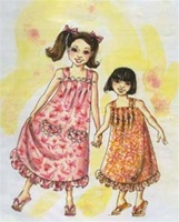 PATTERN-CHILD'S MUUMUU W/STRAPS