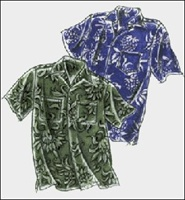 PATTERN-MEN'S ALOHA SHIRT