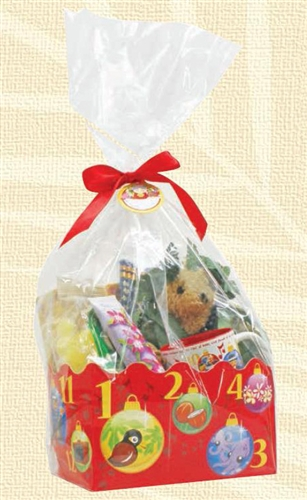 12 days of christmas hawaiian style gift wrap basket