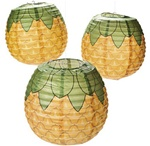 PAPER PINEAPPLE LANTERNS / 3