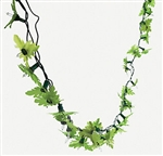 LIGHT-UP TROPICAL GREENERY GARLAND LIGHT SET