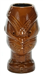 MAORI HEADHUNTER MUG-BROWN
