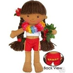 "8.5"" KAITLYN HAWAIIAN DOLL"