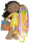 "8.5"" LANI HAWAIIAN SURFER GIRL DOLL"