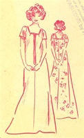 VINTAGE UNCUT MUUMUU DRESS PATTERN - SIZE 8, 12, 16 - Pacifica 3100