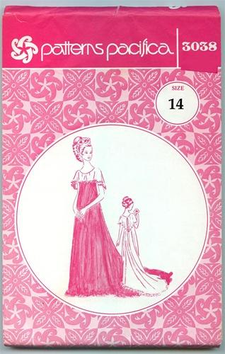 Vintage Uncut Holoku Dress Pattern Size 14 Pacifica 3038