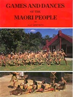 GAMES & DANCES OF THE MAORI BOOK