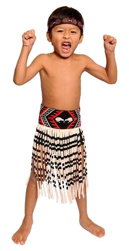 Boys 3 Piece Kapahaka Maori Costume