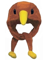 New Zealand Maori Kiwi Bird Plush Trapper Hat