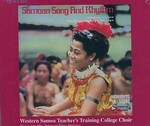 SAMOAN SONG & RHYTHM CD