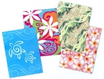 FOLDABLE ISLAND GIFT BOXES - SMALL / 4 Assorted