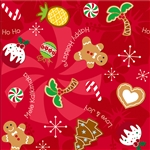 HAWAIIAN HOLIDAY DELIGHTS GIFT WRAP / 2 ROLLS
