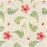 TROPICAL IMPRESSIONS GIFT WRAP / 2 ROLLS