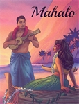 SUNSET SERENADE MAHALO CARDS / 8 Cards