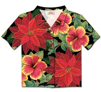 FESTIVE HIBISCUS SHIRT CARDS / 8