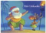 SANTA DANCES CARDS/12
