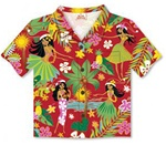HULA HONEYS SHIRT CARDS / 8