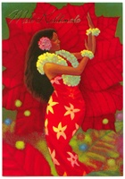 HIBISCUS HULA DELUXE CARDS/12
