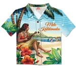 VINTAGE HULA GIRL SHIRT CARDS / 8