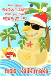 SEASHELL SANDMAN CHRISTMAS CARDS / 10