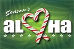 CANDY CANE HEART CHRISTMAS CARDS / 10