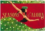 SEASONS OF ALOHA SUPREME CARDS / Box of 12