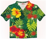 FLORAL MONSTERA SHIRT CARDS / Box of 8