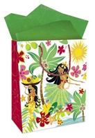 HULA HONEYS LARGE GIFT BAG