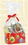12 DAYS OF CHRISTMAS HAWAIIAN STYLE GIFT WRAP BASKET