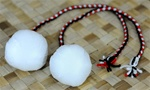 MAORI POI BALLS - CHILD LENGTH / PAIR