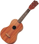 BROWN WOOD UKULELE