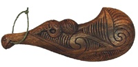 MEN'S MAORI WAHAIKA CEREMONIAL WEAPON