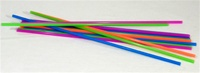 "18"" EXTRA LONG NEON STRAWS-CASE"