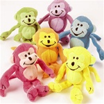 PLUSH HAPPY MONKEY TOYS/6