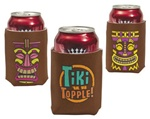 TIKI CAN COOLERS/ SET OF 6