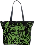 HAWAIIAN GREEN HONU MESH BEACH BAG