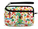 ZIPPERED WRISTLET PURSE - HULA HONEYS