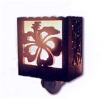 WOOD HIBISCUS NIGHT LIGHT