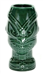 MAORI HEADHUNTER MUG- GREEN
