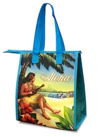 INSULATED LUNCH BAG - VINTAGE HULA