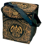 COLLAPSIBLE 12-PACK INSULATED COOLER - HONU TAPA DESIGN
