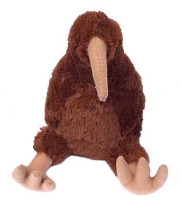 Kura Kiwi New Zealand Plush Bird Toy With Sound Large