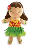 PLUSH ISLAND HULA DOLL