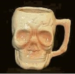 SKULL COFFEE MUG WHOLESALE /6