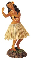"7"" DANCE POSE DASHBOARD HULA DOLL"