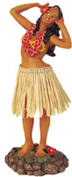 "7"" HANDS BEHIND HEAD DASHBOARD HULA DOLL"
