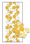 GOLD HIBISCUS CANDY LEI KIT